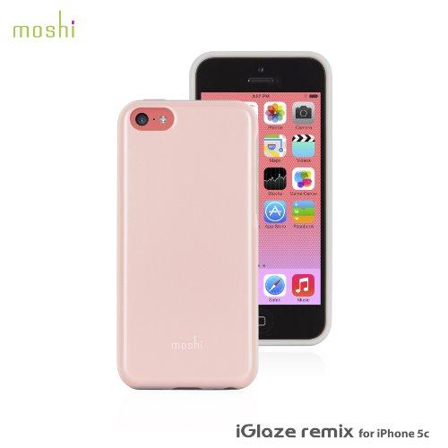 Moshi 99MO069301 iGlaze Custodia per iPhone 5c, Rosa