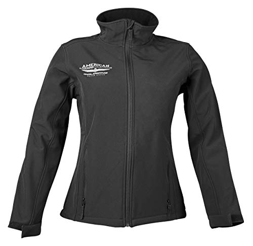 Honda Goldwing Touring Collection Soft Shell Women's Street Motorcycle Jacket - Black / X-Large