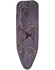 Jcevium 140 x 50 cm stof marmeren strijkplank afdekking bescherming pers ijzer vouwen voor strijken doek bescherming bescherming bescherming gevoelige kleding stuk eenvoudig aangepast 5