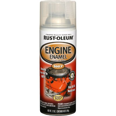 11 Oz Clear Engine Enamel Spray Paint 248944 [Set of - Engine Spray Enamel Paint