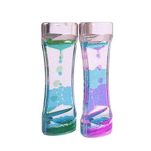 Bestsupplier 2 PCS Liquid Motion Timer Bubbler