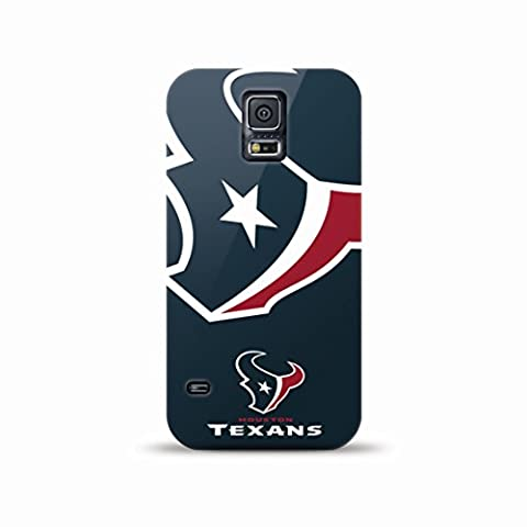 Mizco Sports Case Samsung Galaxy S5 Licensed NFL Houston Texans TPU Gel Case (Houston Texans Samsung S5 Case)