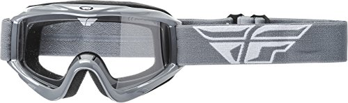 Fly Racing Men's Focus Goggle (Gray with Clear Lens, One Size)
