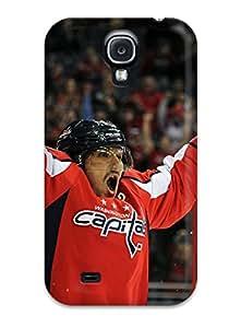 Tpu Fashionable Design Washington Capitals Hockey Nhl (6) Rugged Case Cover For Galaxy S4 New