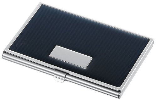 Visol Products Andrew Business Card Holder, Black Lacquer ()