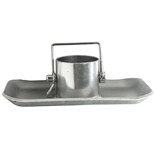 Jack Footplate - Jeremywell Trailer Jack Foot Plate 5000 lbs Capacity with Pin Base for A-Frame Boat RV Camper Removable