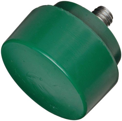 Nupla 15154 Tough Face QC Replaceable Tip for Impax Dead Blow and Quick Change Hammers, Green, 1.5″ Diameter