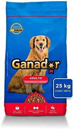Ganador 25kg, Alimento para Perros Adultos de Razas Medianas y Grandes. 2