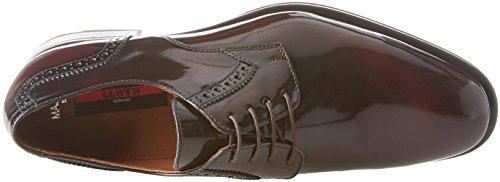 Para Cordones Hombre Rojo Zapatos Major 6 Derby bordo Lloyd De xRqB4OwUS