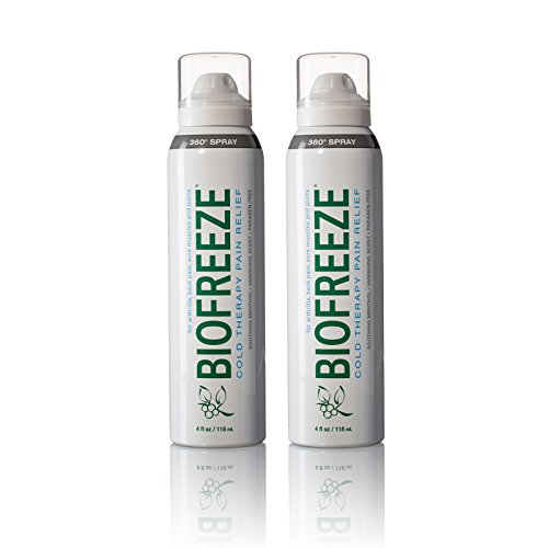 Biofreeze Pain Relief 360 Spray for Arthritis, Cold Topical