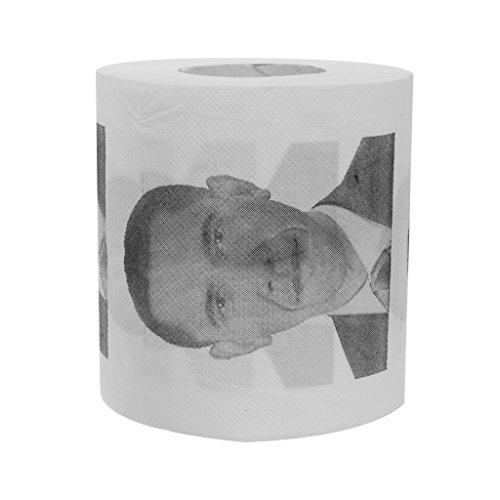 President Barack Obama Toilet Paper Roll Party Gag Gift Prank Humor Fun Joke