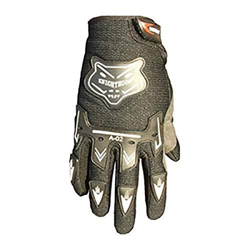 Bikes Gloves Large Street - ATV Motocross Dirt Bike Motorcycle Powersports Street Bike Racing Gloves 02 (XXL, Black)