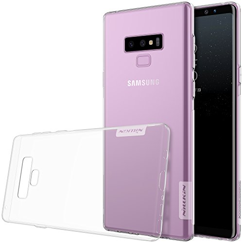 Cheap Samsung Note 9 Case, Nillkin Nature Series Clear Soft TPU Case Back Cover [Ultra Thin] [Slim Fit] for Samsung Galaxy Note 9 – Clear