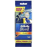 Gillette Blue II Plus Machine Mega Pack (14 x 3)