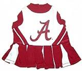 Alabama Crimson Tide Dog Cheer Leading Dress & Leash Set Size MD