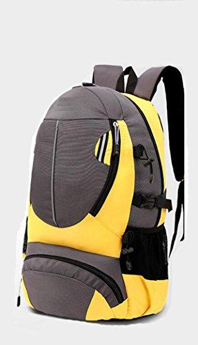 Alpinismo Al Aire Libre Mochila De Viaje 35L,2blue Yellow