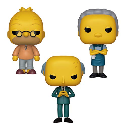 Funko Animation: Pop! Simpsons Collectors Set 2 - Abe, Moe, Mr. Burns