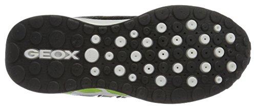Geox J Shuttle a, Zapatillas para Niños Negro (Black/limec0802)