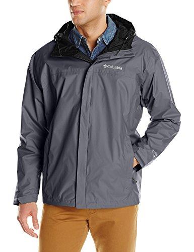 Columbia Men's Big & Tall Watertight II Packable Rain Jacket,Graphite,4X
