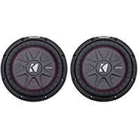 (2) Kicker 40CWRT102 10 CompRT10 Subs Car Subwoofers 1600W Peak/800W RMS New