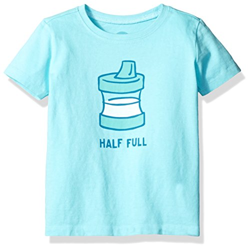 Life is good Toddler Half Full Sippy Cup Tee
