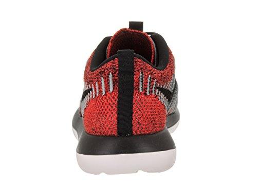 Nike Kids Roshe Two Flyknit (gs) Scarpe Da Corsa Max Orange / Black / Lupo Grigio