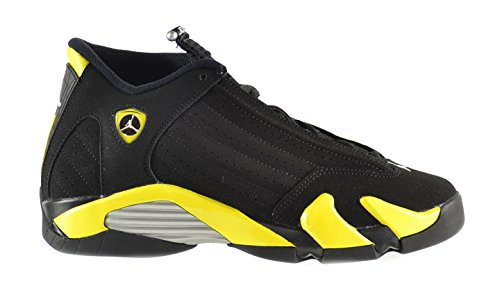 Air-Jordan-14-BG-Big-Kids-Shoes-BlackVibrant-Yellow-White-487524-070