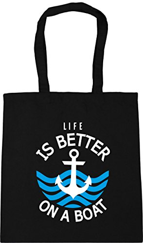 Bag litres better Tote Black 10 Gym on Life x38cm boat 42cm is a Shopping HippoWarehouse Beach UEvwq6n