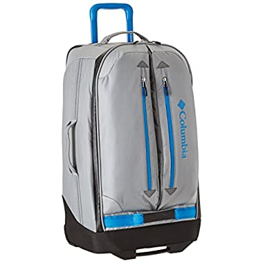 Columbia Pack and Go 26 Inch Rolling Upright, Grey/Compass Blue, One Size