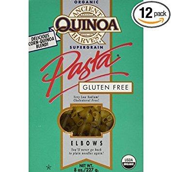 Gluten Free Quinoa Elbows Pasta - 8 oz (Pack of 12)