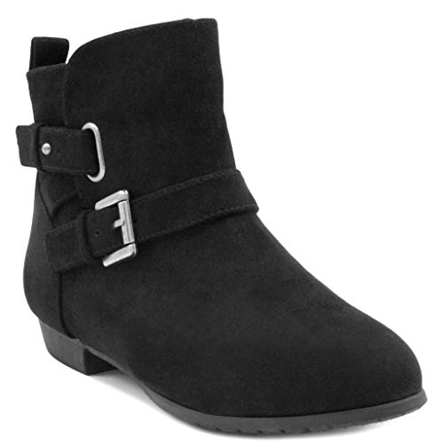 Sugar Women's Bochella Flat Ankle Bootie Boot with Double Fl