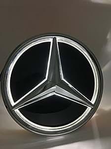Amazon Com Cszlove Car Front Grilled Star Emblem Led