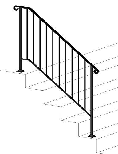 Iron X Handrail Picket #4 (No Fasteners)