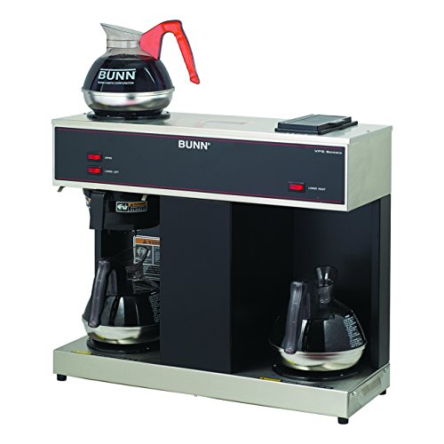 BUNN 04275.0031 VPS 12-Cup Pourover Commercial Brewer, with 3 Warmers (120V/60/1PH)