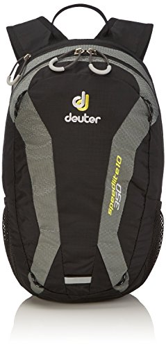 Deuter Speed Lite 10 - Ultralight 10-Liter Hiking Backpack, Black/Titan, 10 Liter by Deuter