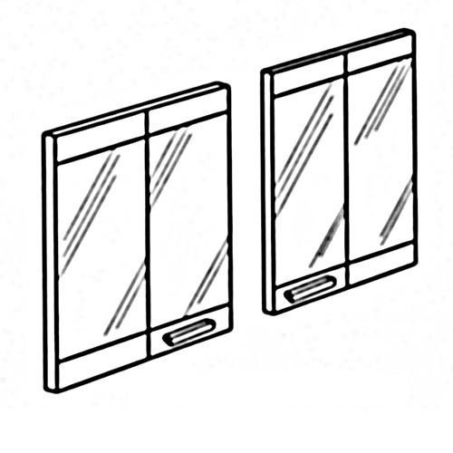 FMI BD36B 36 Extruded Aluminum Bi Fold Doors ()