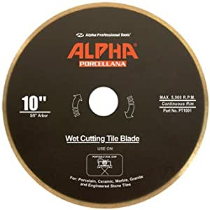 "10"" Alpha Porcellana Wet Diamond Blade"