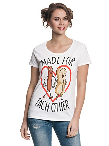 sausage party Made For Each Other Girl Shirt White