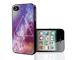 Orange Illuminati Hard Snap on Case (iPhone 4/4s)
