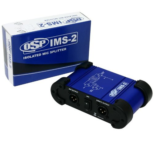 Elite Core IMS-2 1 In - 2 Out Premium Isolated Microphone ()