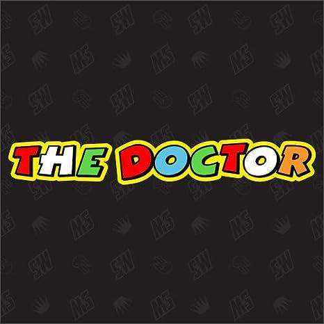 Speedwerk Motorwear The Doctor Rossi Moto Gp Sticker Auto