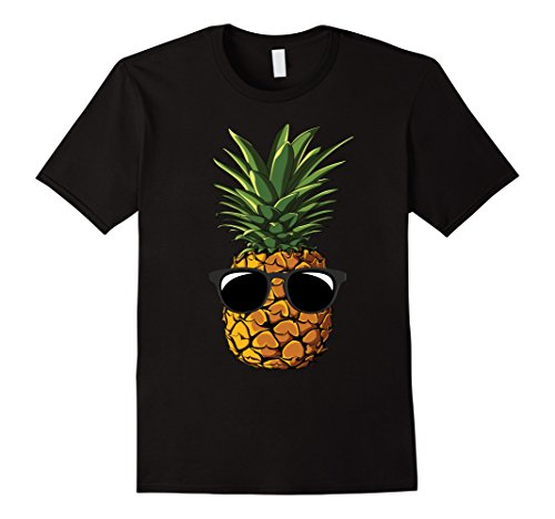 Mens Pineapple Sunglasses Aloha Beaches Hawaii - Hawaiian T-shirt 3XL - Sunglasses Hawaii