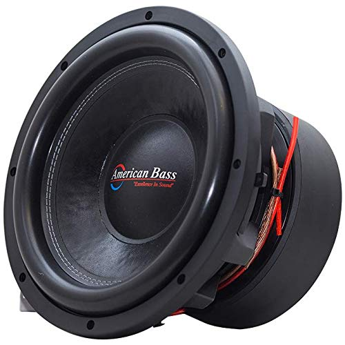 "American Bass HD12D1 12"" Dual 1 Ohm Competition Car Stereo Subwoofer"
