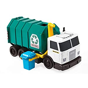"""Best Epic Trends 41J0OPB7xKL._SS300_ Matchbox Garbage Truck Large [Amazon Exclusive] Multi, 15"""""""