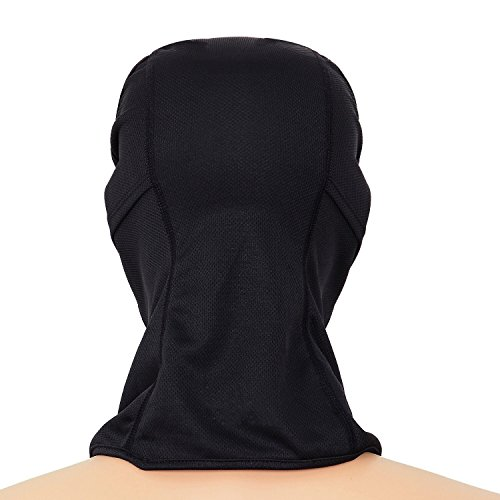 Sports Balaclava 2-Pack Face Mask Motorcycle Helmets Liner Ski Gear Mountain Neck Gaiter by The Friendly Swede (Black) by The Friendly Swede (Image #4)