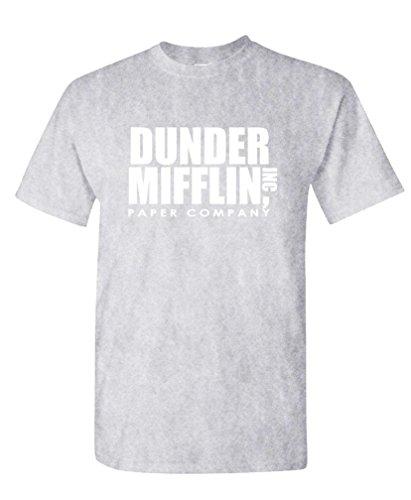 The Goozler - Dunder Mifflin - Office Paper Company - Mens Cotton T-Shirt, S, Sport ()