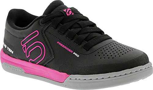 Five Ten Women's Freerider Pro Bike Shoes (Black/Pink, 7.5 US) by Five Ten