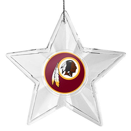 NFL Washington Redskins Traditional Acrylic Star Ornament