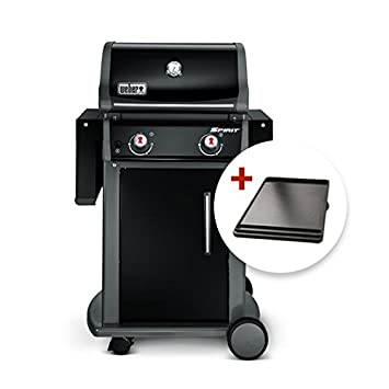 Barbacoa de gas Weber Spirit Original E-210 Black + plancha