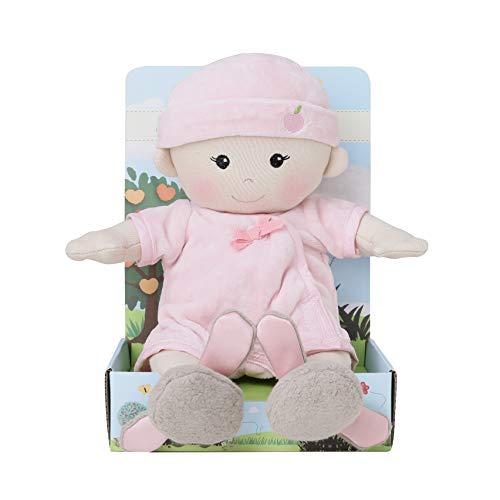 Apple Park Organic Plush Baby Girl With Bunny ()